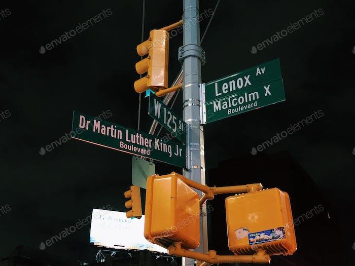 Harlem corner