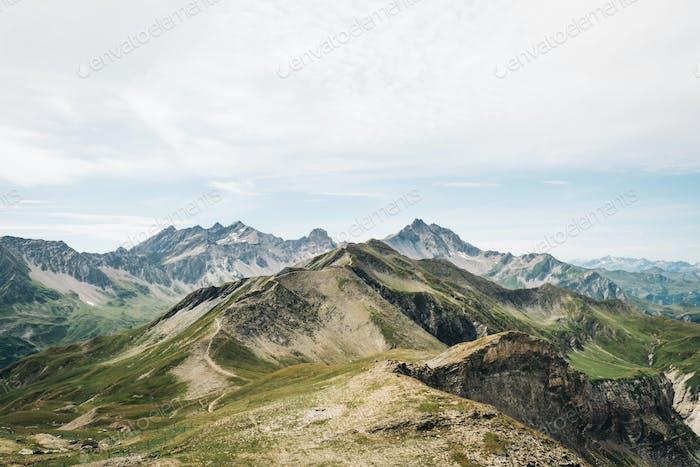 Alpine spectacle.