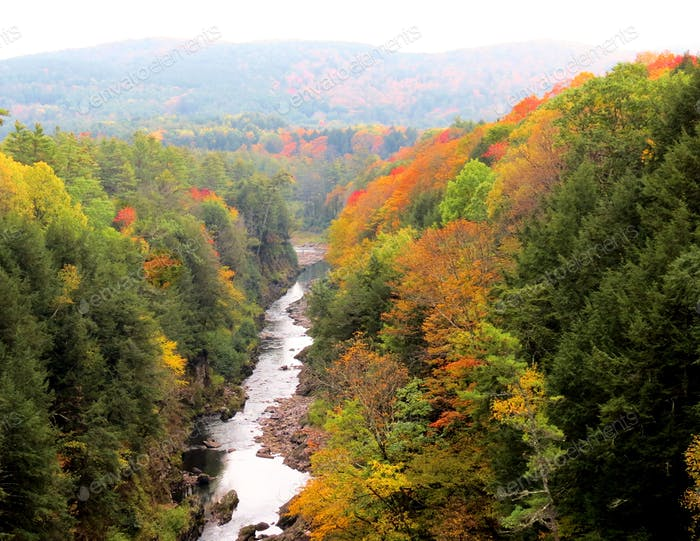 Fall Foliage Quechee Gorge, Vermont