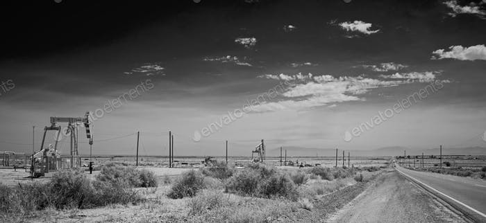 Sunset Midway Oil Field, California.