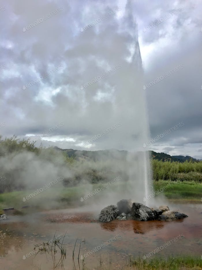 Most people think the only Old Faithful Geyser is in Yellowstone National Park