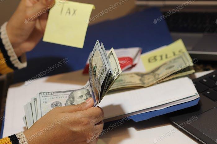 Tax and bills