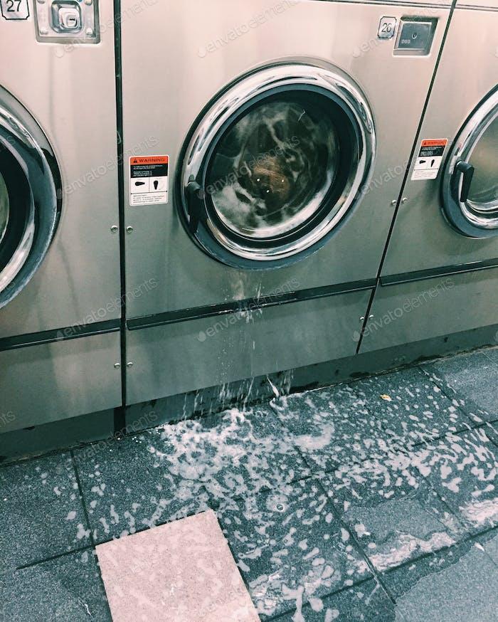 Wenn Wäsche Tag geht schrecklich schief!