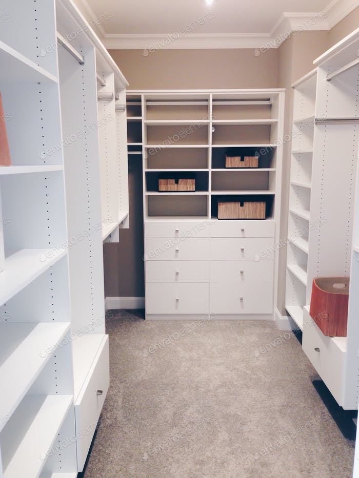 Walk in closet organizer  💲