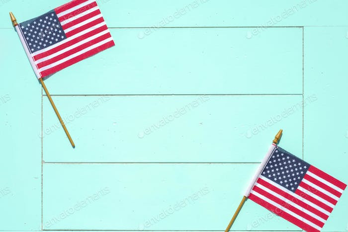 Patriotic background with space for copy