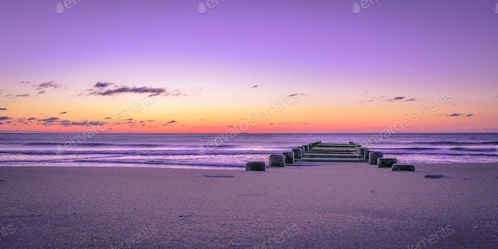 Jetty at dawn