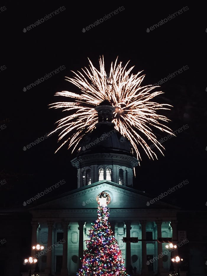 South Carolina statehouse NYE