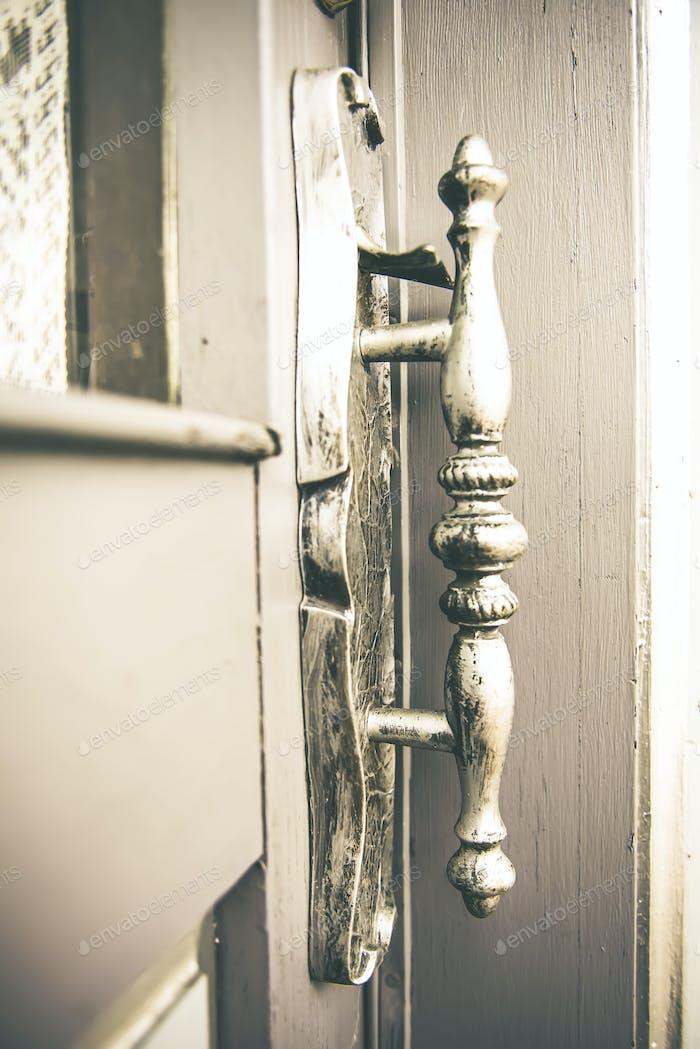 I dig old stuff, and old doors, so old stuff on old doors is a bonus!