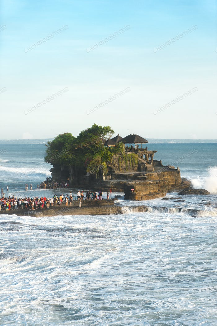 Temple in Bali, Indonesia - Tanah Lot