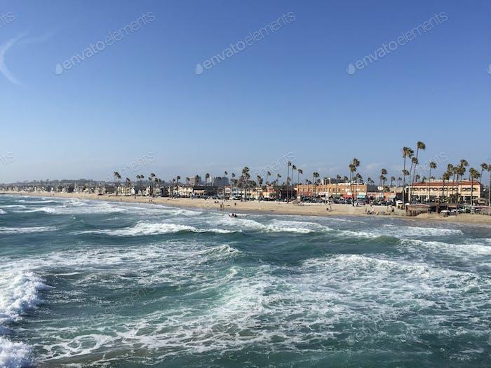 Waves of Newport Beach