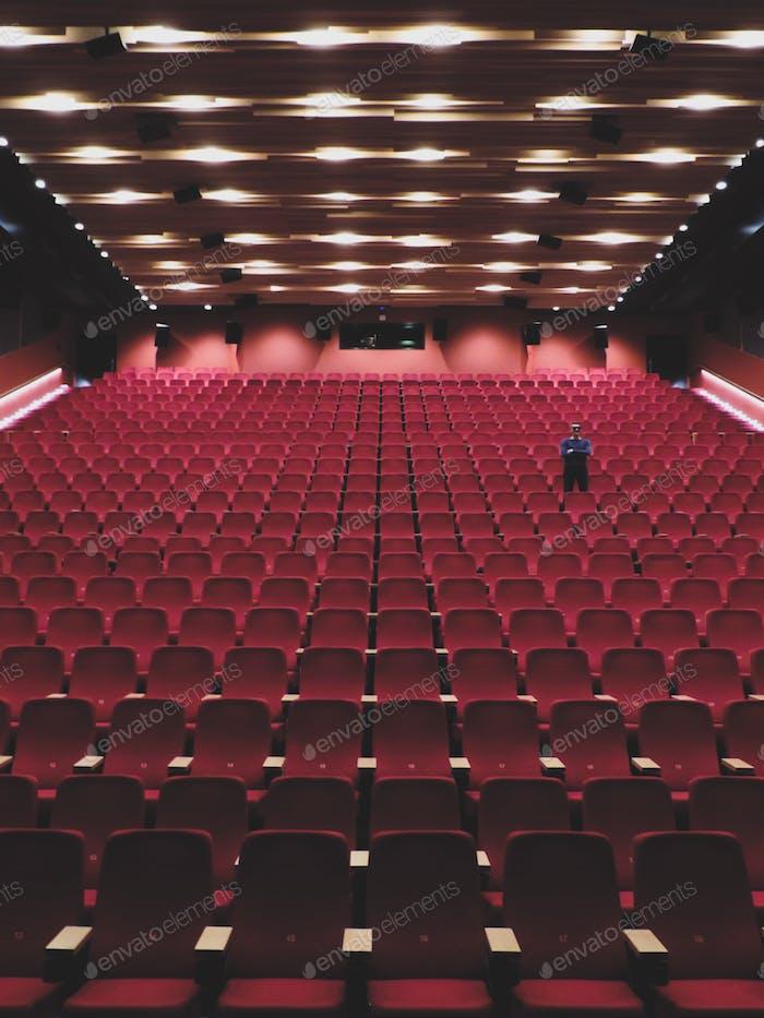 Empty cinema, Utrecht
