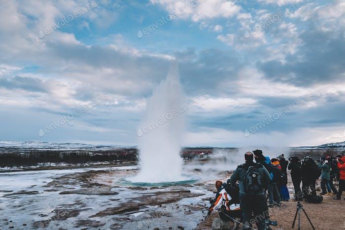 Hot spring, sightseeing spot