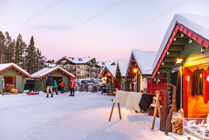 Lapland village