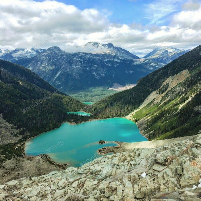 Joffre lakes, BC.