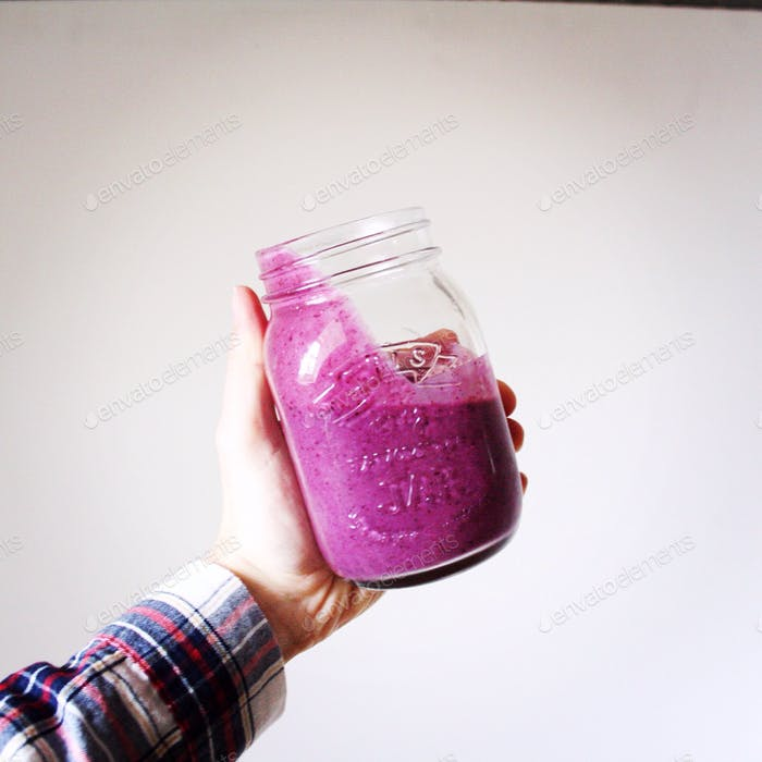 Purple smoothie love