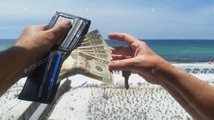 Besides wallet in hand ... Keep your money in hand!