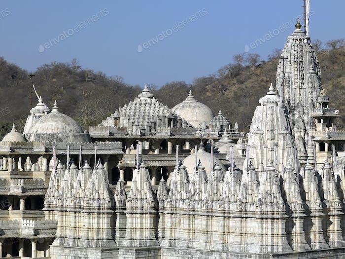 Adinath Jain Temple at Ranakpur in the Rajasthan region of India.