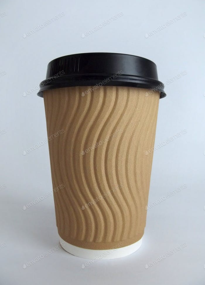 Generic takeaway disposable coffee cup