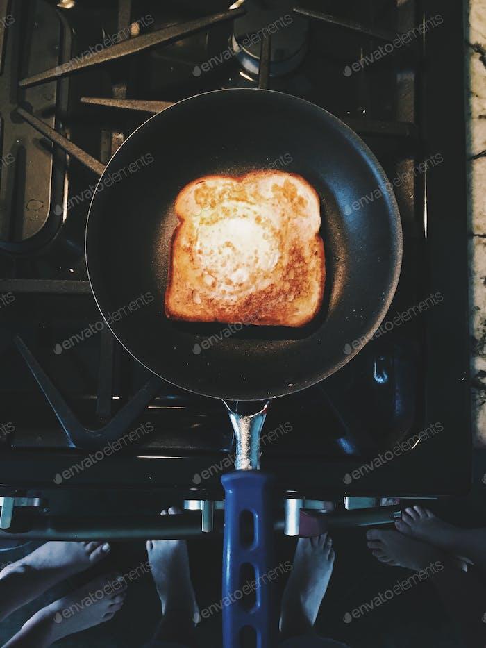 Eifer erwartet Frühstück