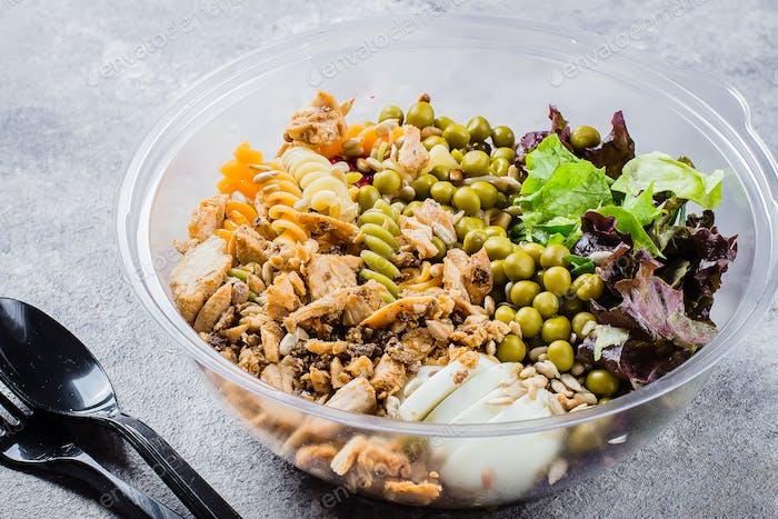 Lunch keto bowl