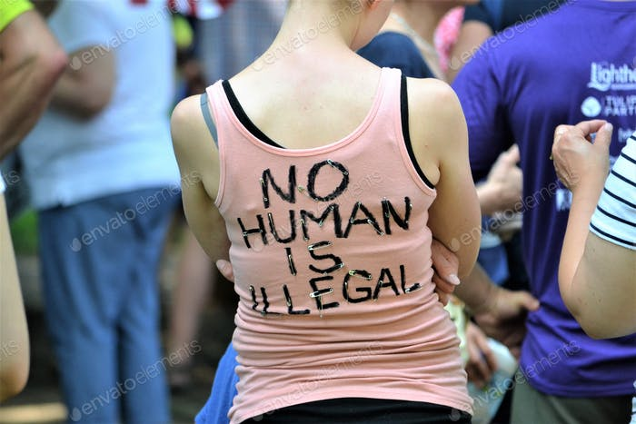 No human is illegal!  Nominated :)