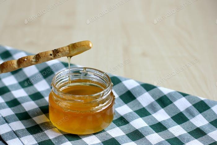Breadstick or Italian grissini
