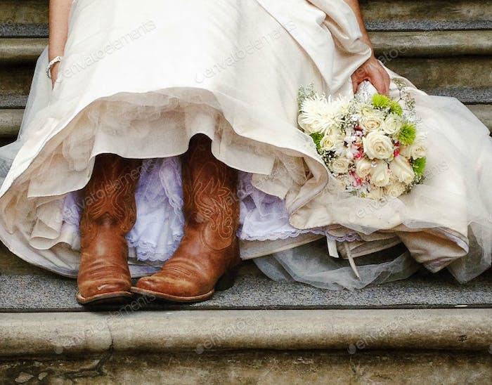 Hochzeit Stiefel