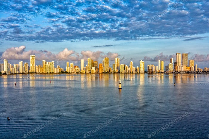Cartagena Columbia from the Ocean