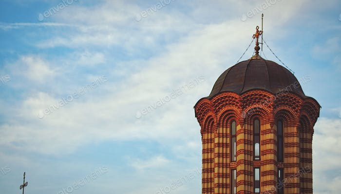 An orthodox church in Romania