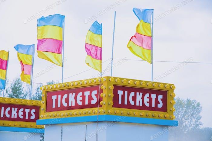 Minnesota State fair ticket office.