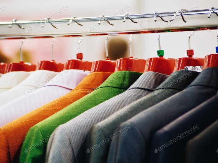 clothes hanger retail store