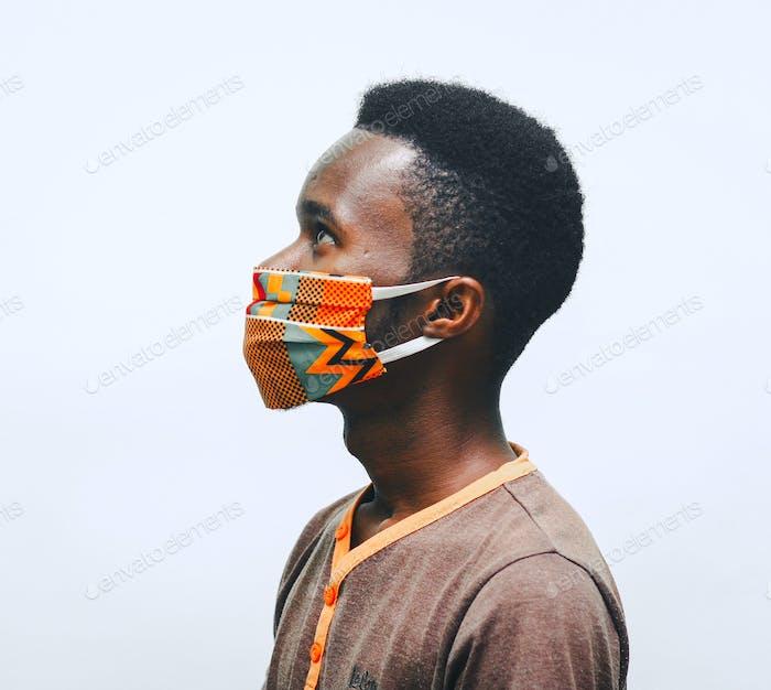 Wearing nose mask