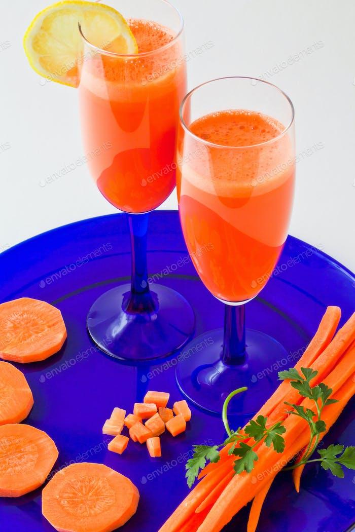 Carrot refreshments