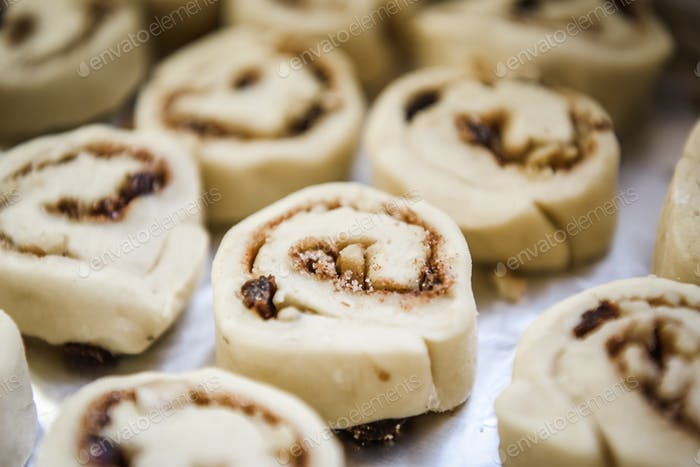 Cinnamon rolls are a sweet pastry roll common to Northern Europe (mainly in Scandinavia) and North