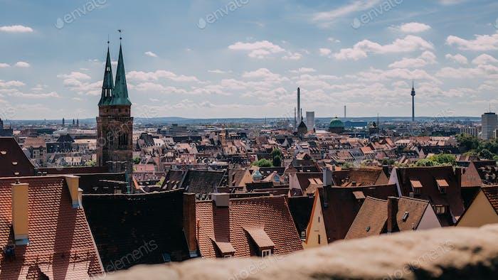City of Nürnberg in Bavaria, Germany