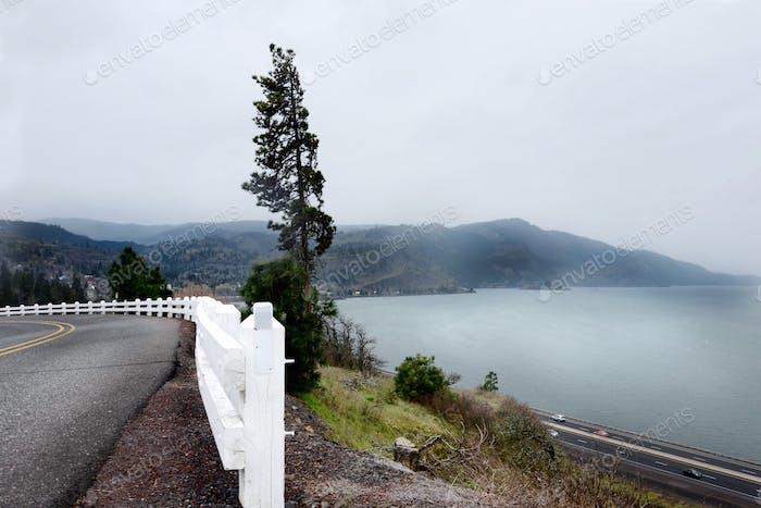 Hazy view