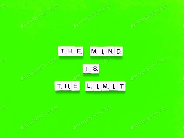 The mind is the limit