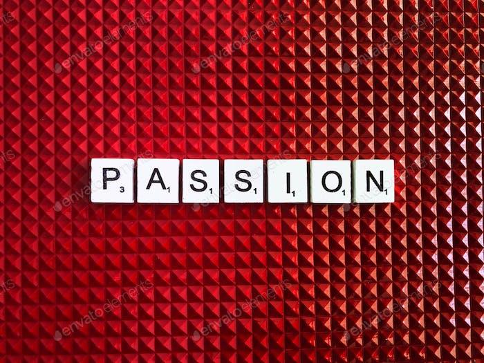 Passion. Passionate. Scrabble. Scrabbles. Word. Words.