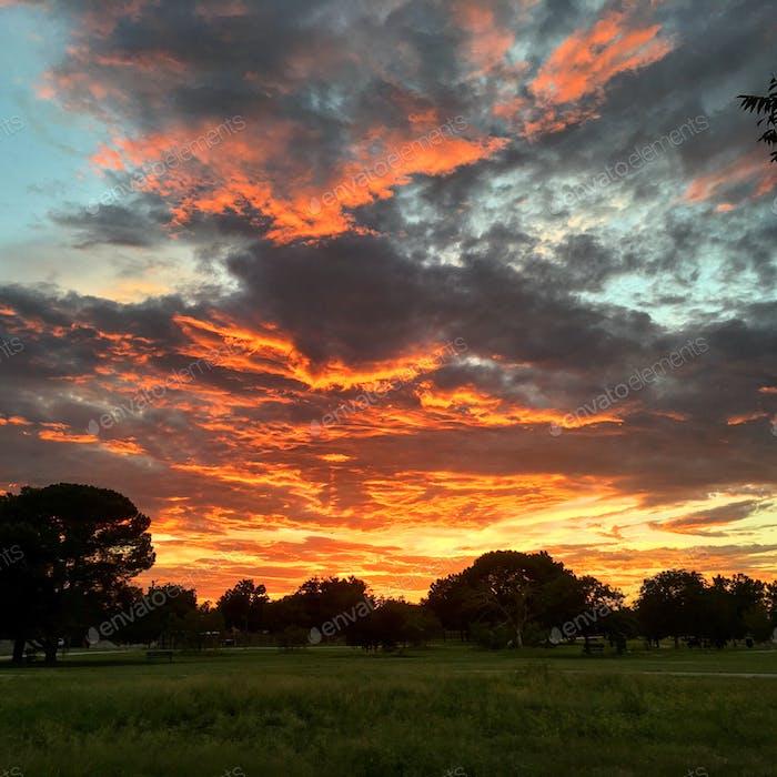 West-Texas-Sonnenuntergang