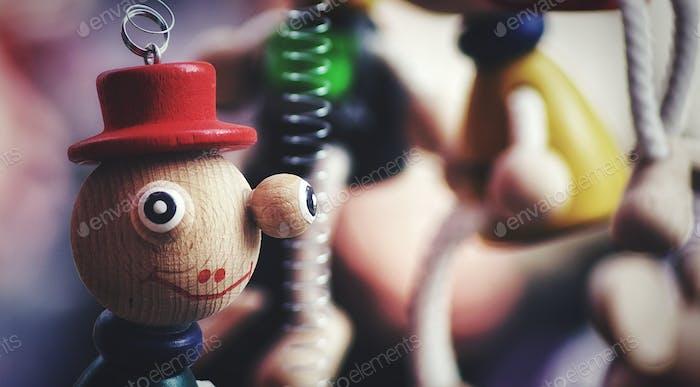 Ein Spielzeug