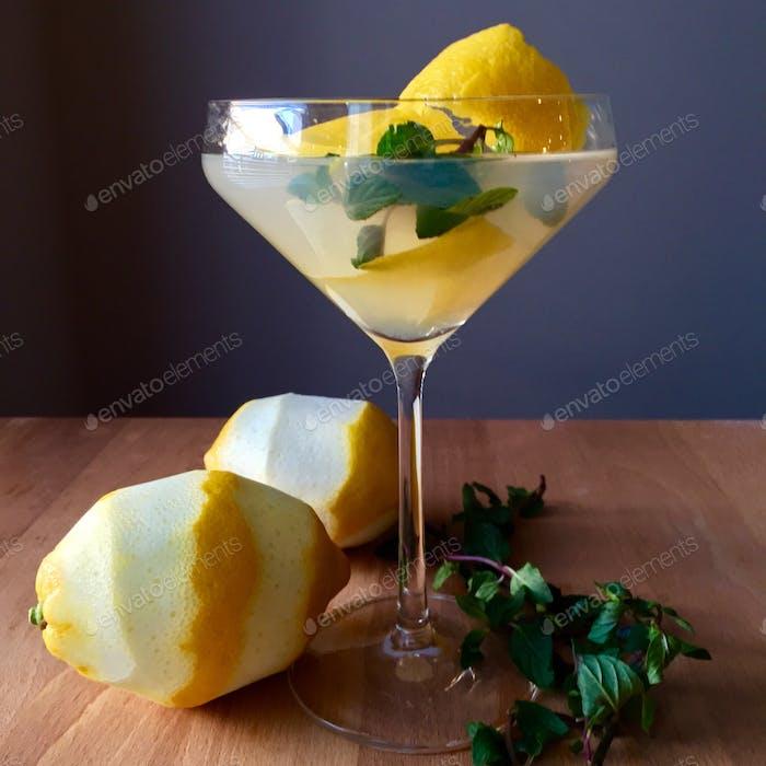Infundierter Martini