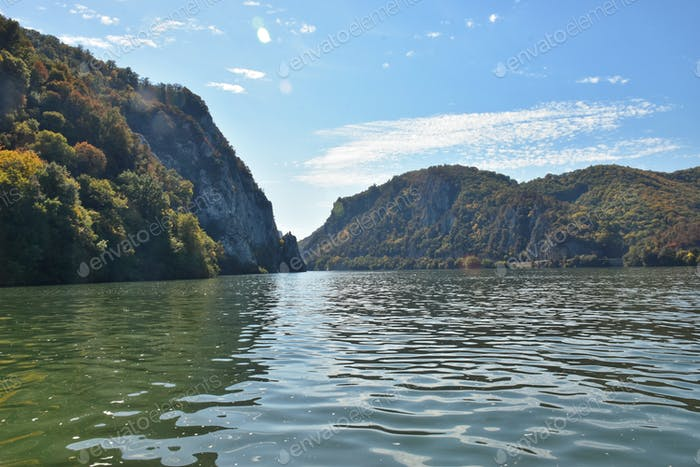 Danube gorge, Serbia