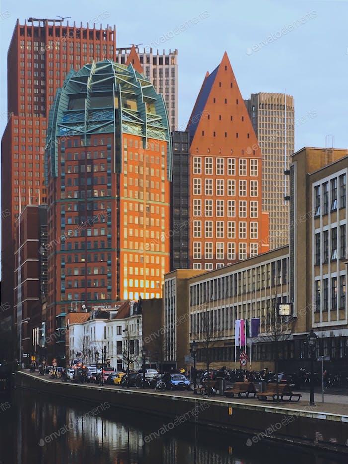Highrise in Den Haag