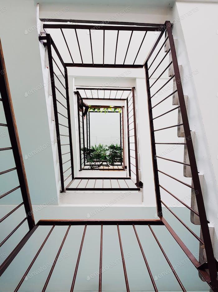Лестница жилого дома