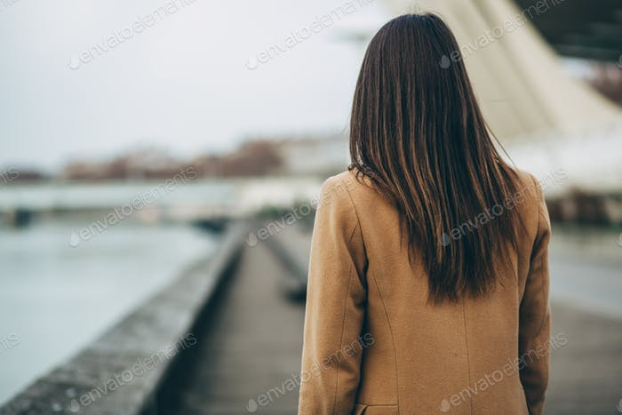 People from behind