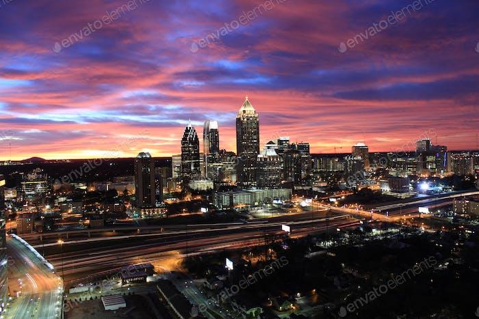 Morning  in Atlanta