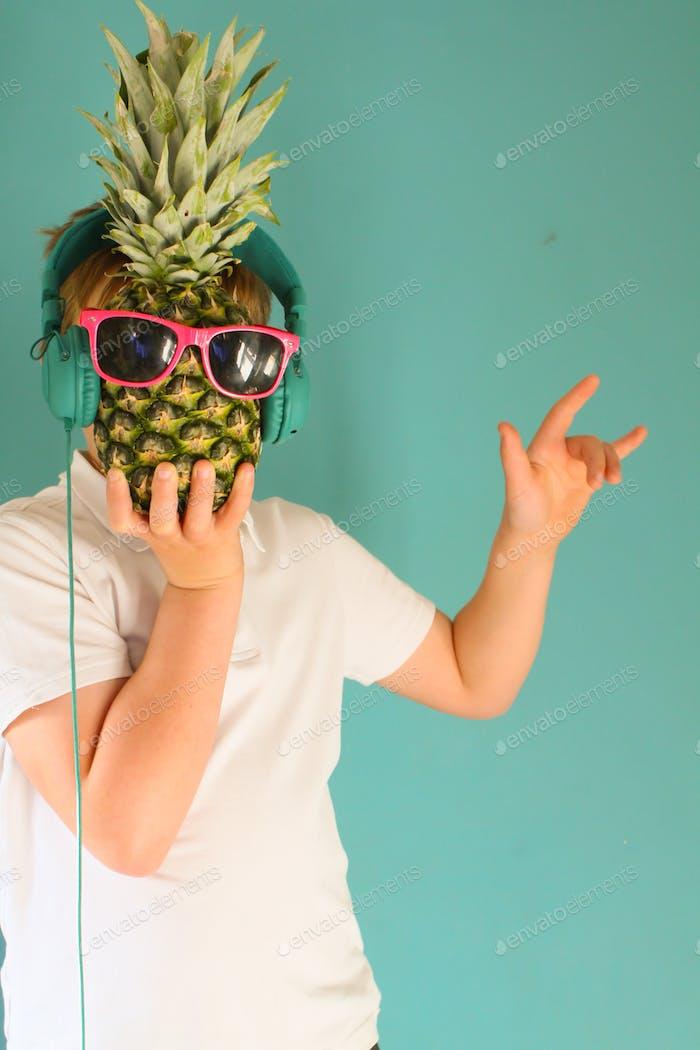 Pineapple dude