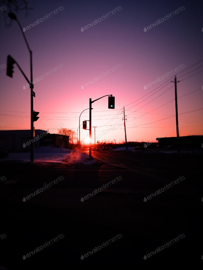 Die Februarsonne