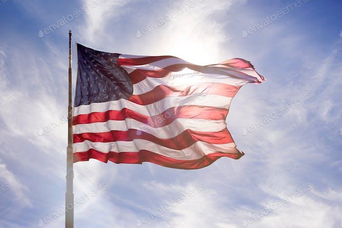 Destacando la democracia americana.