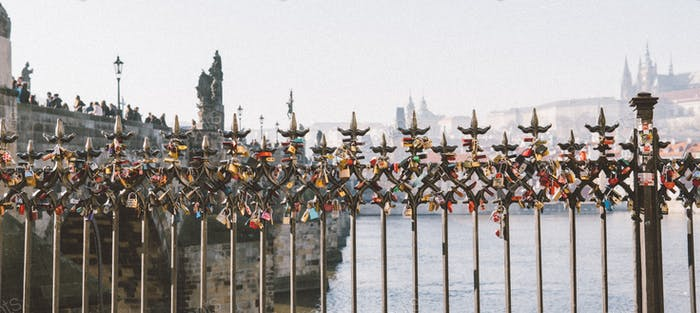 Prager Brücke Architektur Tourismus